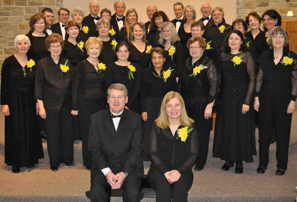 The choir in 2013 photographed by David Thickett